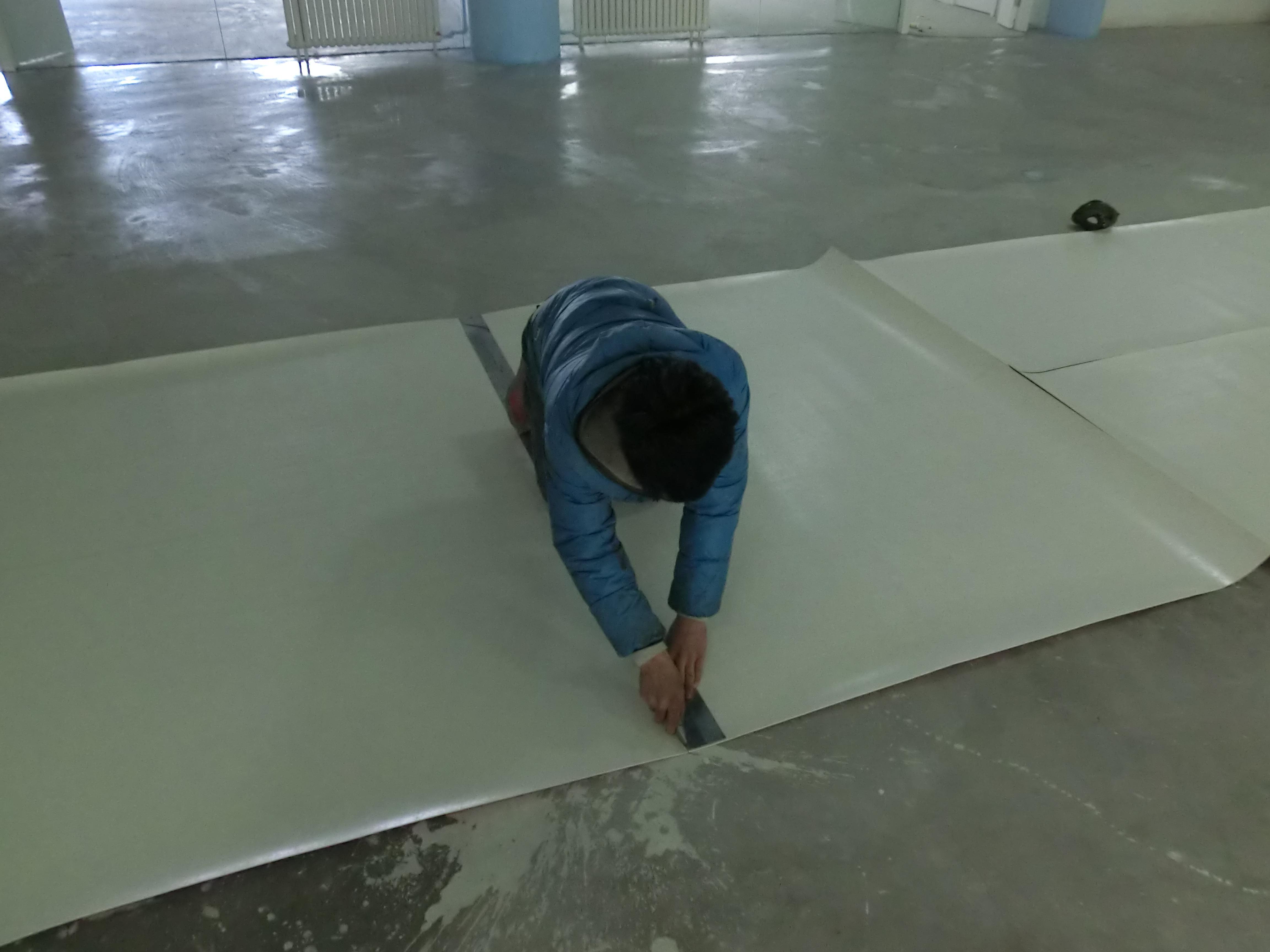 幼儿园塑胶地板施工铺设方案