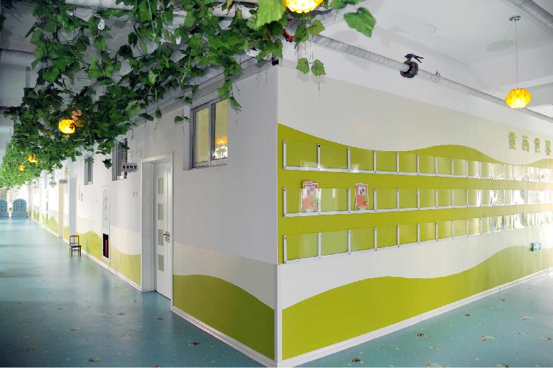 天津塘沽芸圣幼儿园墙裙设计成功案例
