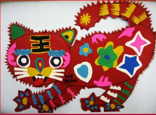 幼儿园春节主题网络结构图
