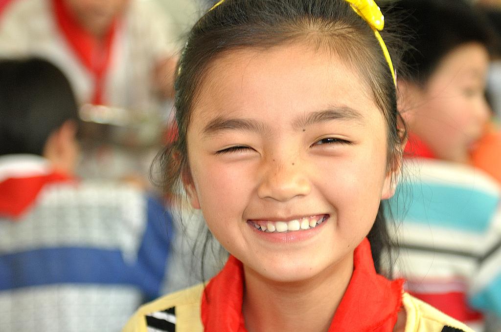 孩子笑脸简笔画