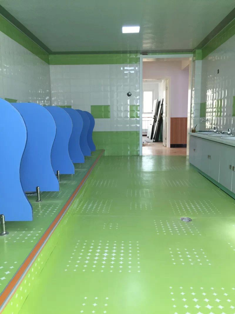 幼儿园塑胶地板童趣系列案例展示