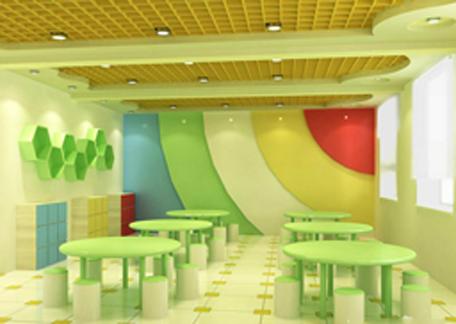 现在化的幼儿园环境设计效果图