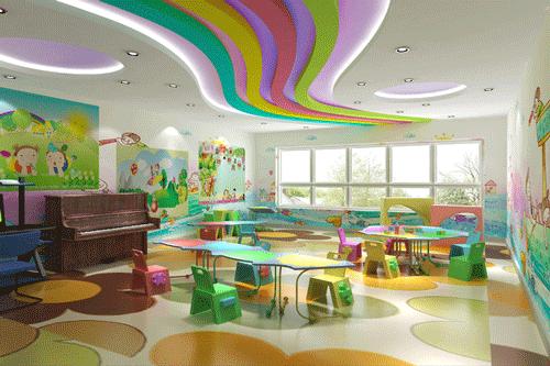 幼儿园室内设计装修效果图