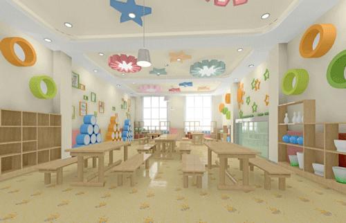 幼儿园装修照明设计效果图