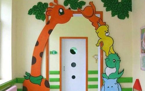 幼儿阳台窗户简笔画