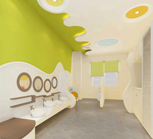 幼儿园卫生间设计装修规定及卫生间效果图