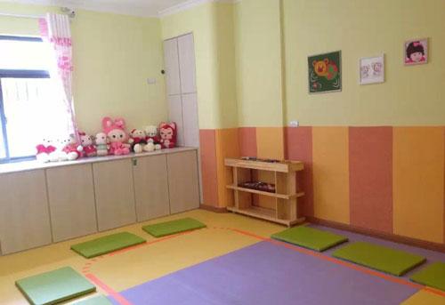 幼兒園教室室內pvc墻裙效果圖
