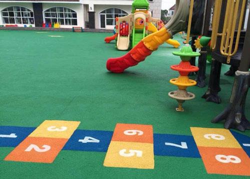 室外幼儿园游戏场地效果图