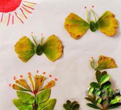 今天小编介绍的幼儿树叶粘贴画图片大全可以帮助锻炼了孩子的动手能力图片