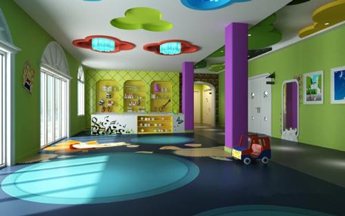 高档幼儿园室内设计效果图