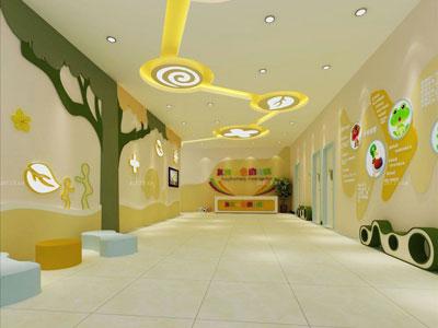 幼儿园走廊天花板设计效果图