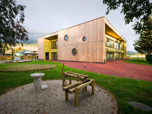 国外幼儿园设计:斯洛文尼亚smartno分时幼儿园