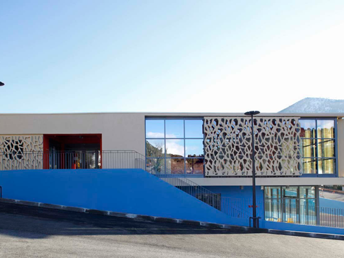 国外幼儿园设计:法国幼儿园和公共建筑