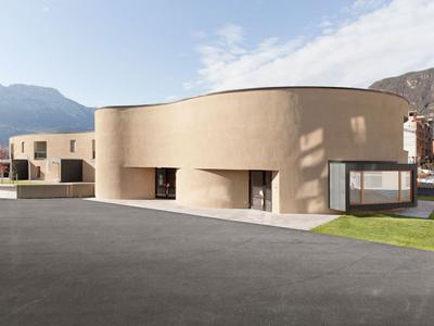 国外幼儿园意大利博尔扎诺幼儿园建筑设计案例