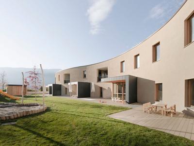 国外幼儿园设计:意大利博尔扎诺幼儿园