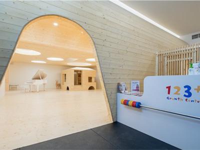 国内幼儿园设计:上海最美早教中心