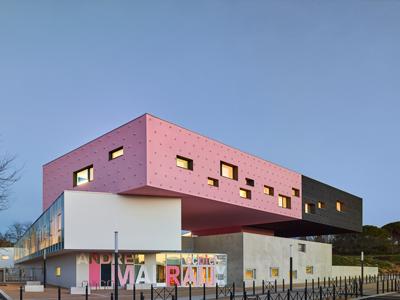 国外幼儿园设计:法国蒙彼利埃andre malraux学校