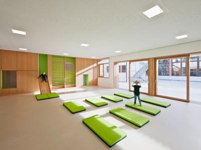 国外幼儿园设计:意大利波尔扎诺自治省泰伦托幼儿园
