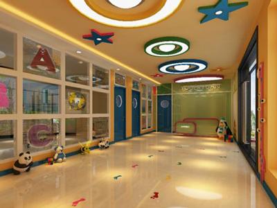 幼儿园走廊吊顶效果图
